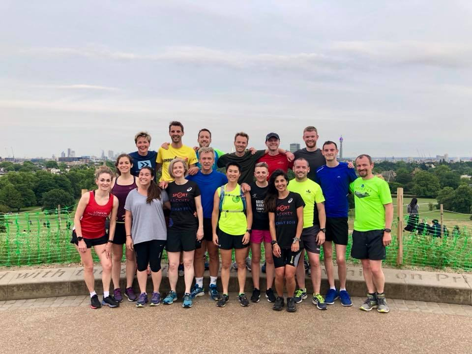 London Frontrunners Wednesday Primrose Hill Coaching