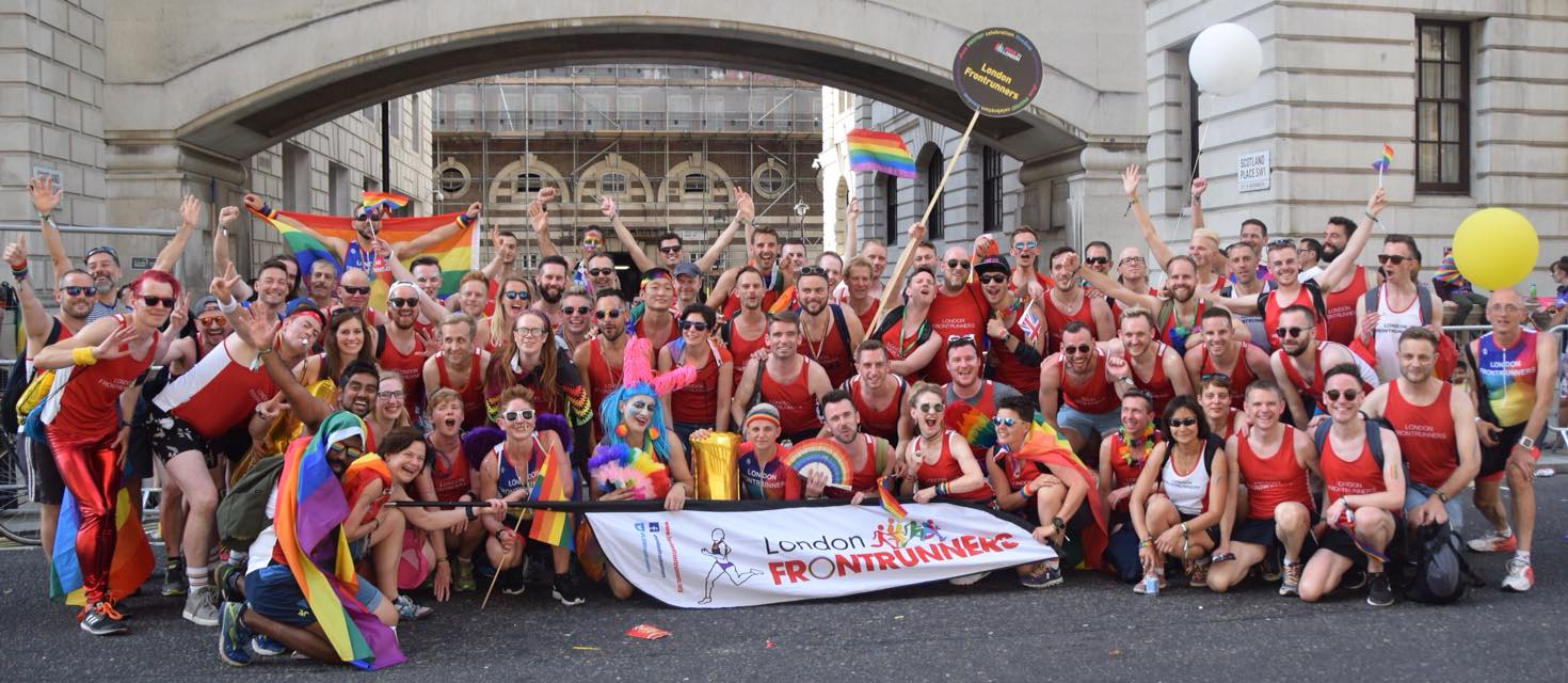 London Frontrunners | London's Inclusive LGBT+ Running Club