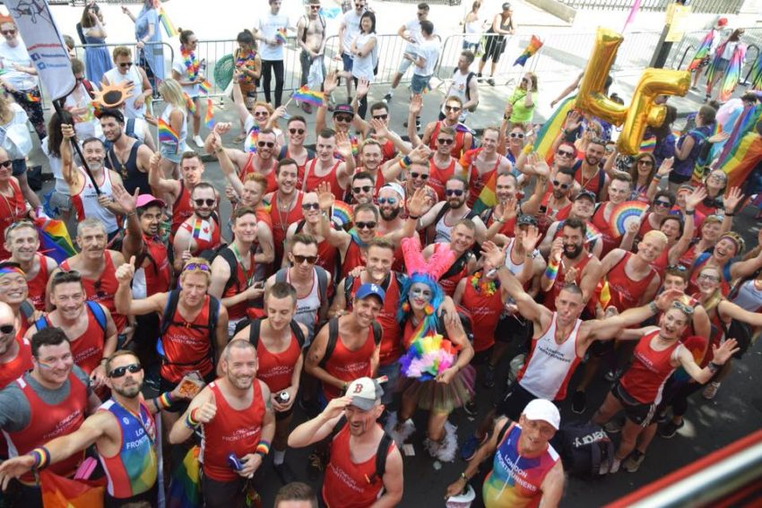 London Frontrunners at Pride