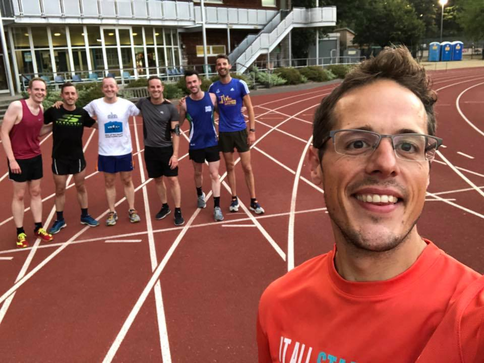London Frontrunners at LFR track session