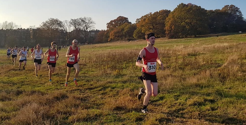 London Frontrunners at Cross-country
