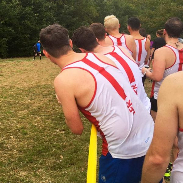London Frontrunners at Met League cross-ountry